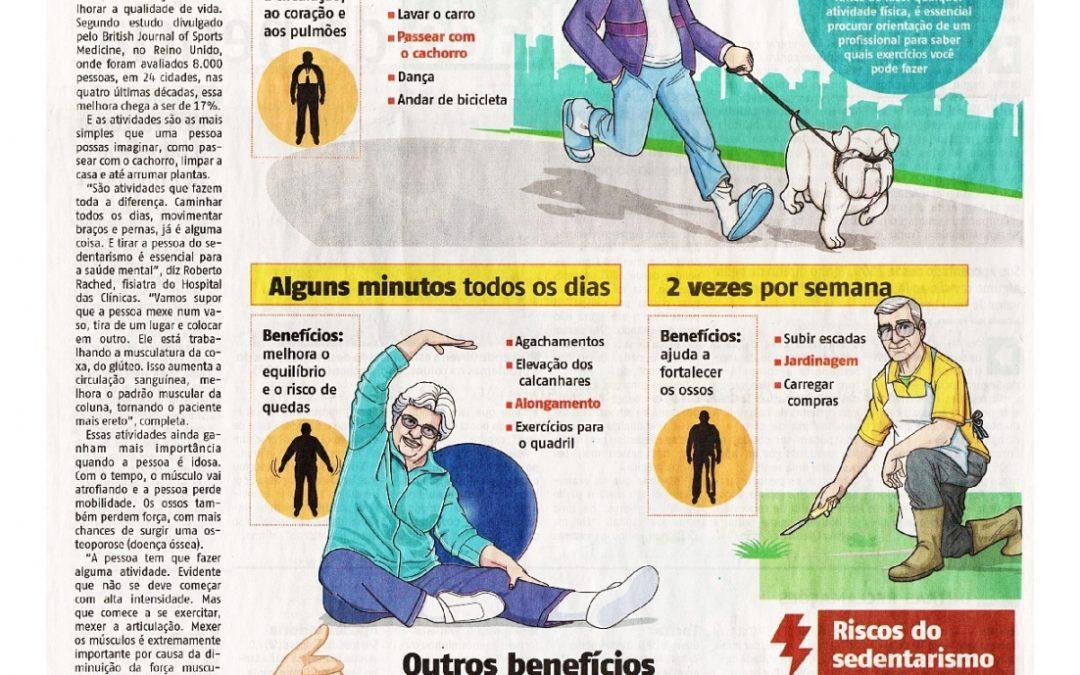 Atividades simples ajudam a melhorar a qualidade de vida