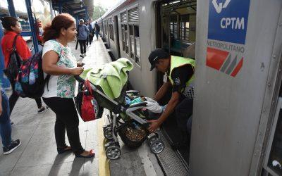 Passageiros da CPTM sofrem com falta de acessibilidade