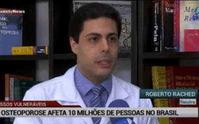 Osteoporose afeta 10 milhões de pessoas no Brasil